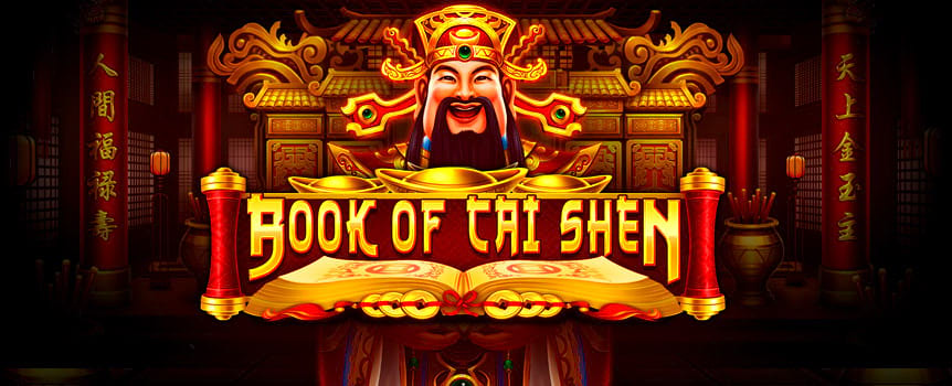 Uncover the ancient fortunes locked inside the golden Book of Cai Shen. Packed with excitement and mystery, this pokie has some unique thrilling twists to help you gain lucrative free spin bonus rounds.