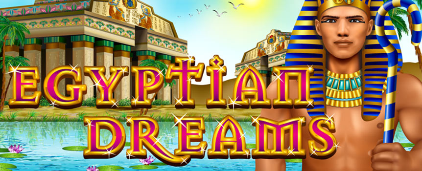 Egyptian Dreams is a Habanero video slot game that takes players all the way back to Ancient Egypt. Solve the mystery of the sacred temple and make your ways through the desert until you land the jackpot and make the treasure of the Pharaoh yours. This game features a classic and easy gameplay with generous bonuses on top just to make sure that your trip to Egypt will be worth your time.