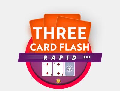 Three Card Flash Rapid