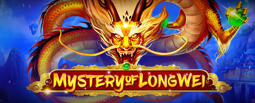 Aim for monumental winnings in this 5-reel 40-line slot that comes with Colossal Symbols, up to 30 exciting Free Spins and Dragon Mystery Spins.