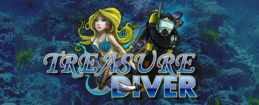 Treasure Diver takes on the always intriguing subject of the open seas as its principal theme. Considering that humans purportedly know more about aspects of outer space than we do about our own planet's seas, there's no end to the amount of opportunities for mystery and genuine intrigue that developers who opt for this theme or something similar open themselves up to!