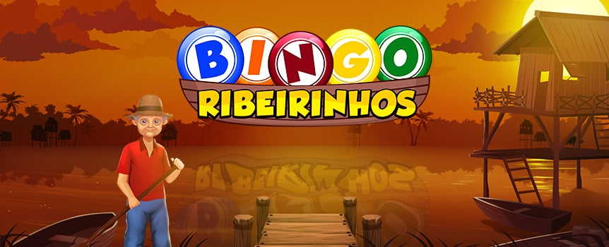 Join the Ribeirinhos in the South American outback for a round of bingo like you've never played before. Take in the sights, enjoy the sunset and play to trigger 11 winning patterns. Or, if you're lucky, trigger the bonus round and watch as you collect coins as you pick up baskets of fish. And if you're still struggling to land a win, mate, make good use of the game's Extra Ball feature. It lets you buy up to 13 extra balls when you're just one measly number short of scoring that winning pattern.