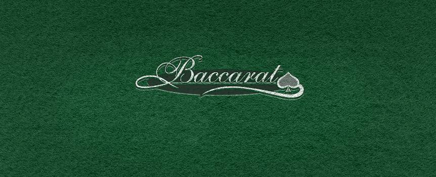 You're in the right place to learn how to play baccarat. Baccarat was invented during the middle-ages and is named after its worst hand, a zero. If you like the class that goes with playing Baccarat at the casino, you'll love playing the Baccarat online casino game at Our Casino.