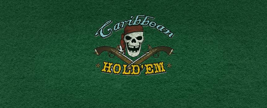 Caribbean Hold'em is a variation of everyone's favorite classic, Texas Hold'em. Win the Progressive Jackpot with a royal flush on the first five cards. Get an extra bonus with a flush or better. Get in on this Progressive Jackpot that's shared with Caribbean Stud Poker and Caribbean Draw Poker so it grows bigger even faster. Learn how to play Caribbean Hold'em with Our Casino online casino.
