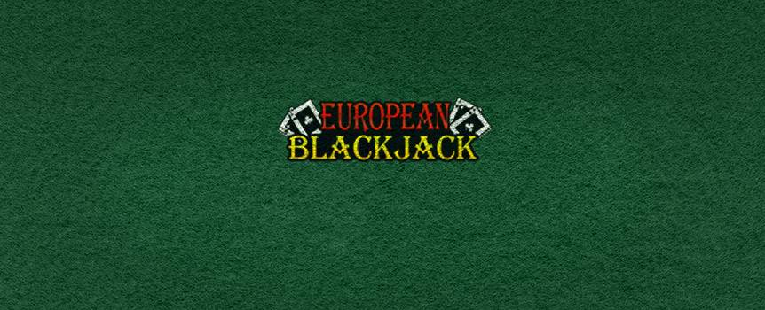 There's action when playing any variety of Blackjack and Joe Fortune online casino has them all, including European Blackjack. Based on a score of 21, Blackjack provides the player with some of the best odds in the house.