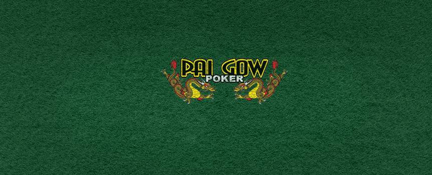 If you're familiar with the classic game of Poker then test your skill by learning to play Pai Gow Poker – it will surely feel like a breath of fresh air. This American take on the classic Chinese pastime is played with a standard 52-card deck, plus one joker.