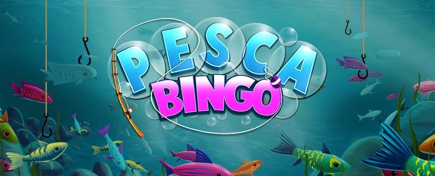 Get set to dive in to an underwater adventure with Pesca Bingo. You get up to four cards per round with 12 unique winning patterns. Land the top pattern on a $10 stake and you'll walk away with $15,000. You can also pick up plenty of extra prizes in the bonus round, which will see you casting a line and reeling in the big fish for huge payouts. And if you fall just short of catching a winning round, you can always buy up to 13 additional balls to make sure it isn't the one that got away!