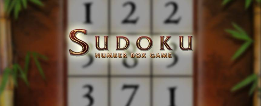 "This classic Japanese game has become a worldwide sensation. It involves entering the numbers one through nine into a grid without repeating a number in the same row, column, or general region. This is probably why Sodoku is considered a ""brainy"" game, so test both your wits and luck in this online version to see if you have what it takes to get the big jackpot. Meanwhile, you can also relish the game's stellar design, multiple play options and tons of chances to catch your lucky break. It's time to put your thinking cap on and spin into the zany fun with Sudoku Number Box Game. It's the perfect combination of excitement and intellectual challenge."