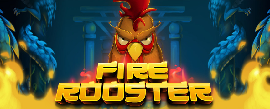 Fire Rooster is a beautiful game in many ways, with its vibrant colours, pretty views, stunning backgrounds, and a great gameplay. The symbols are, of course, a big part of why that is, with its detailed and sweet look. There are a few extra special symbols to keep your sessions up and running, with a golden crown that can award you Free Spins and a Rooster that acts as a winning booster.