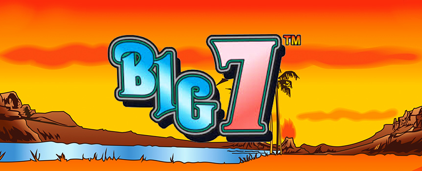 Remember the good old days when pokie machines were simple and easy to use? Before all the confusing Features and options came into play? Well, Big 7 harks back to those glory years, but adds in a new twist - in the form of huge Payouts on offer!