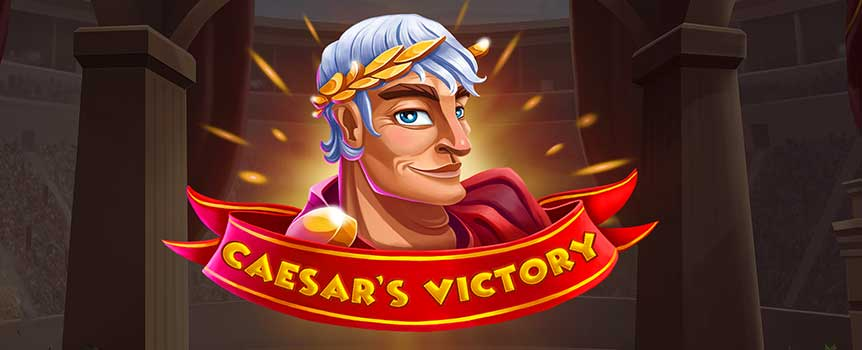 The Glory of Rome in your hands! Turn into Caesar and live the glory of Colosseum with this Roman-style slot game. Enjoy the fast, engaging pace and the captivating animation to gain all the luxuries that an Emperor needs!