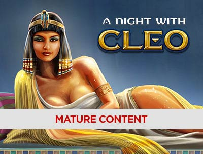 A Night with Cleo on Pandora Casino Slots